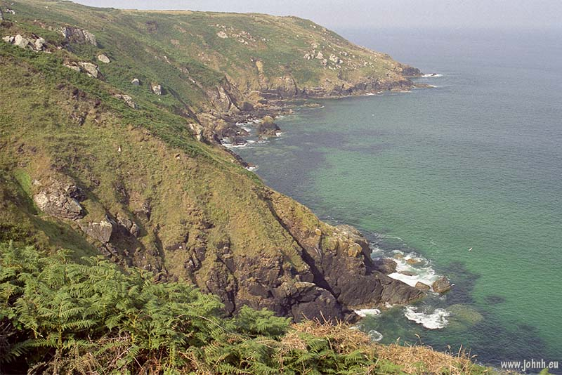 Cornwall Coast Path - August 1995