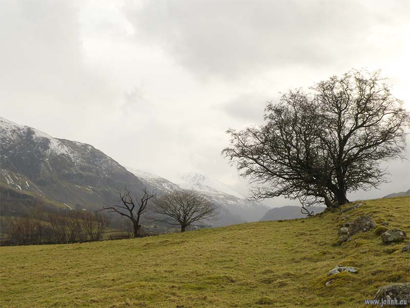 View from A66 near Threlkeld, Cumbria