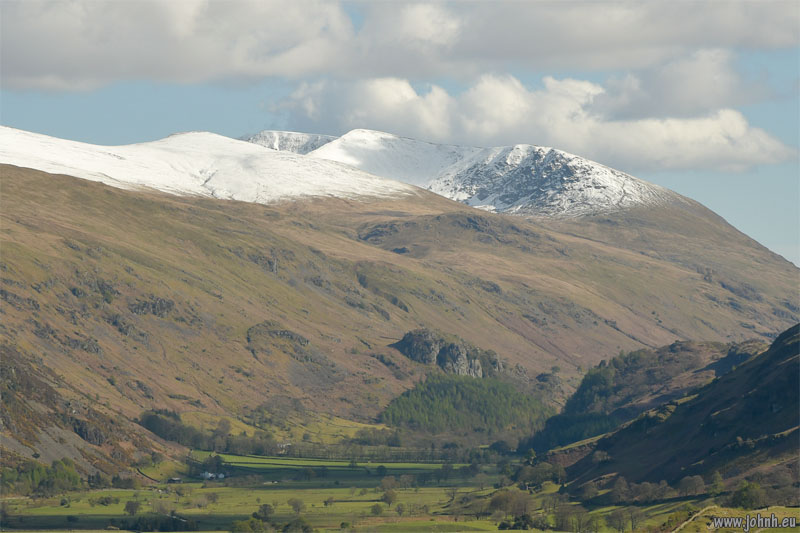 Snow on Helvellyn in May