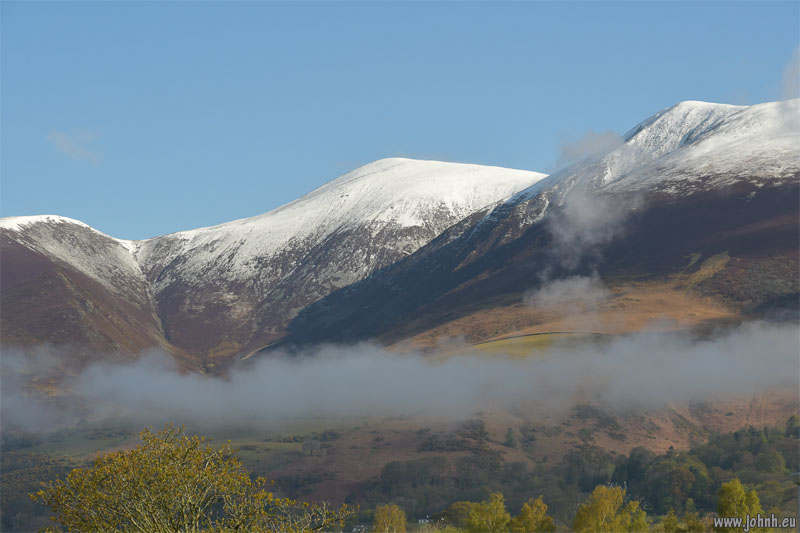 Snow in May on Skiddaw